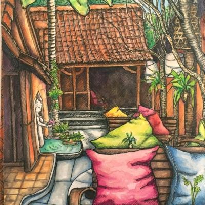 Bali Journal - Caf Ubud
