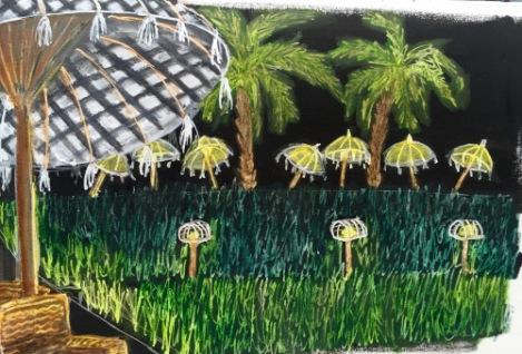 Bali Journal - Rice field at Sardine